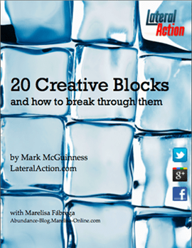Ebook cover: 20 Creative Blocks