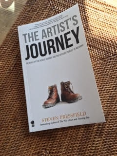 Book cover: the Artist's Journey by Steven Pressfield