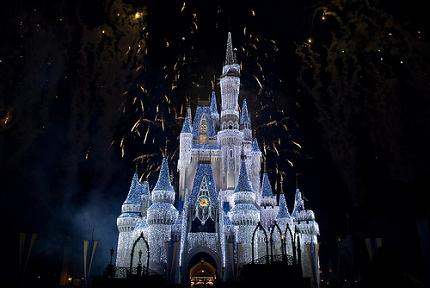 Fireworks at Walt Disney World.