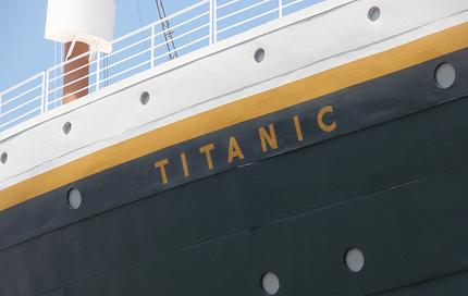 Hull of the Titanic